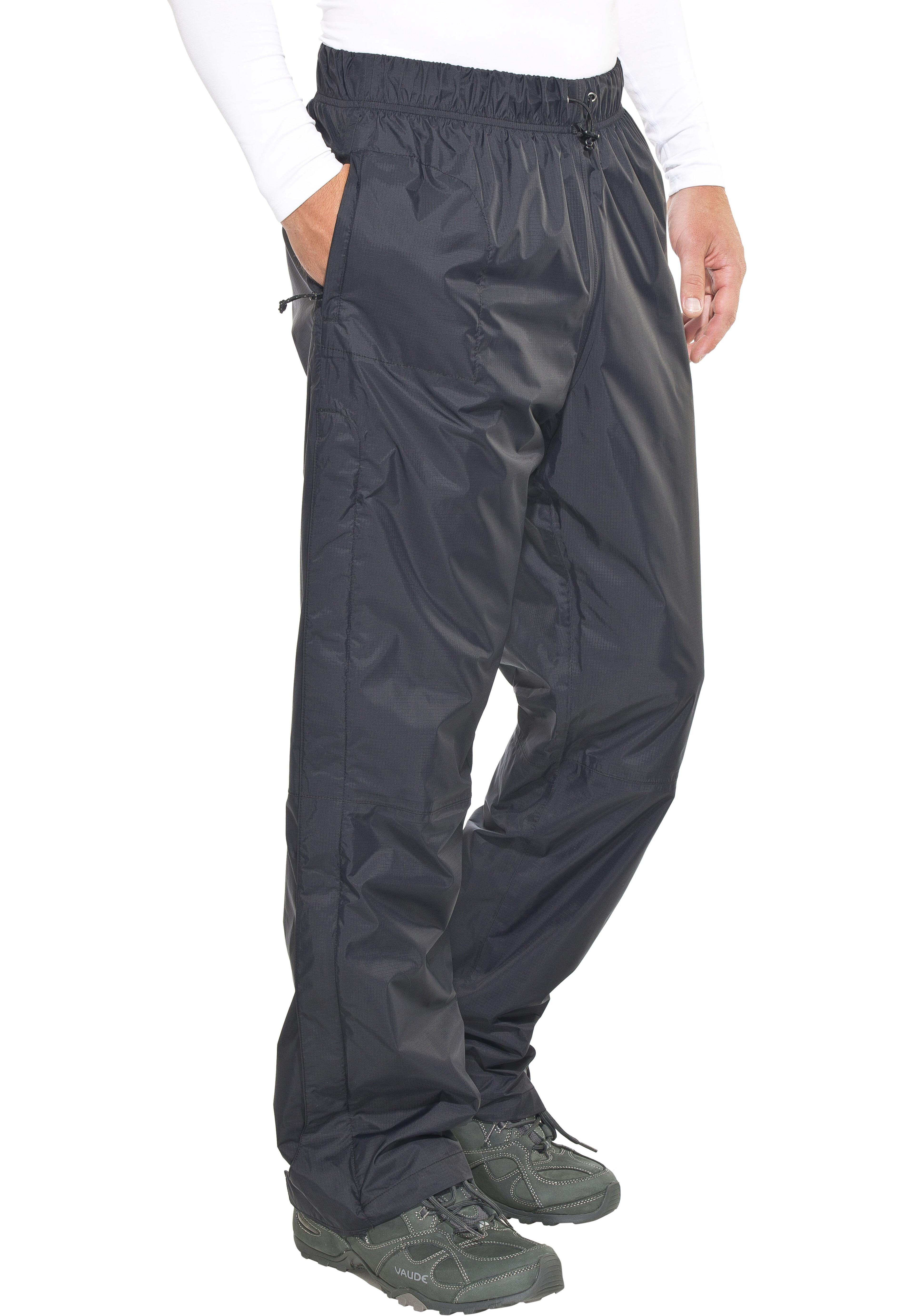 Columbia Pouring Adventure - Pantalones de Trekking Hombre - 81 cm negro a95f1ab9031